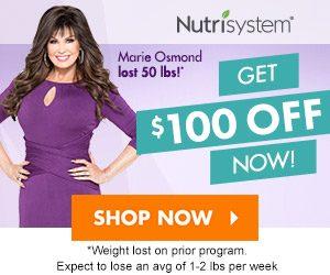 nutrisystem 100 off
